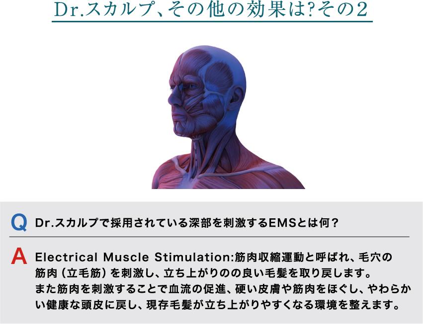"""""""Dr.スカルプ、その他の効果は?その2"""