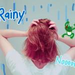 雨でも1日綺麗に巻き髪をキープするコツ☆ミ