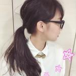 「知的」「かわいい」!眼鏡をかけた時にはヘアアレンジで印象チェンジ