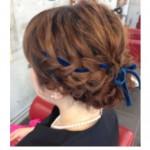 一本のリボンから始まる♡女子力UPのヘアアレンジ